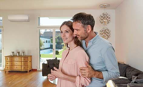 Klimatizace Daikin Perfera pro pohodlí vašeho domova