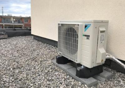 Klimatizace - venkovní jednotka - ulice Mutěnická