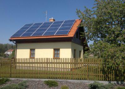 Fotovoltaiky na klíč pro vlastní spotřebu - Nekmíř