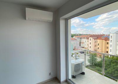 Klimatizace v novostavbě Plzeň